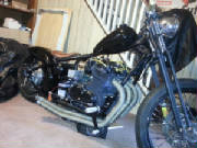 Honda CB750 SOHC Hardtail Conversion with DNA Springer Conversion Kit