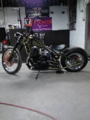 Hardtail for Honda CB750 1971 SOHC