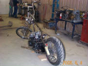 Honda CB750 Custom Chopper