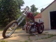 Honda CB750 SOHC Custom Rigid Chopper