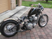 Honda CB750A Automatic Custom Rigid Chopper
