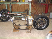 Honda CB650 Rigid Chopper