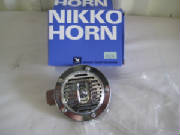 Nikko Single Note Horn 12V Chrome