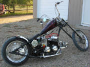 Honda CB750 Custom Rigid Chopper