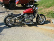 1998 Honda Magna VF750C Hardtail Conversion