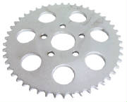 Chrome rear sprocket - flat  46 Teeth Fits FXR, FXRS 1986 & Sportster 1986/1992 Replaces HD# 41470-86