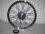 "21"" Narrowglide front wheel 40 spoke"