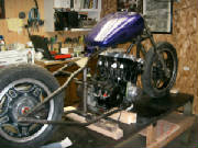 Honda CB750 DOHC custom rigid chopper