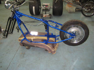 Frame and parts powder coat services