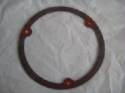 "Clutch Derby Cover gasket with silicon bead .062"" FL. FLH, FX, FXR 70-83"