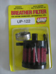 "3/8"" UNI Push in Style Breather or Vent Filter"